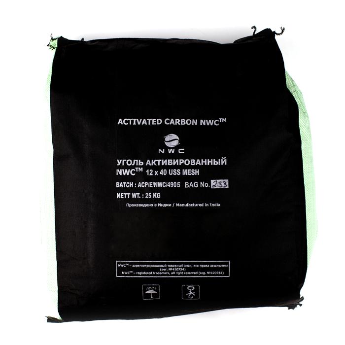 Уголь активированный кокосовый-nwc-12x40